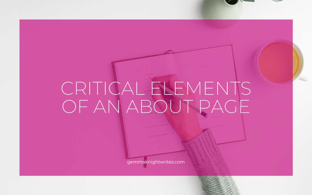 The Critical Elements Of An About Page