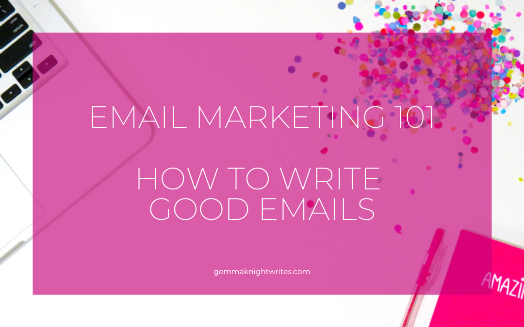 The Secret To Writing Good Emails