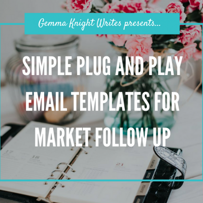 market email templates