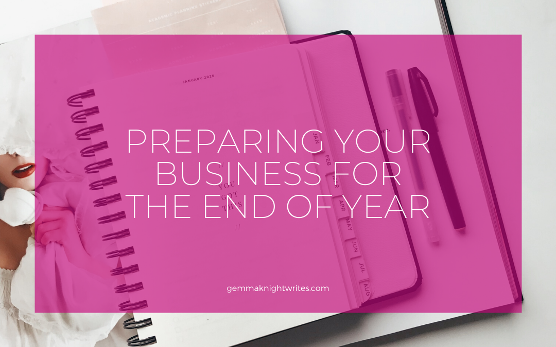 Preparing Your Business For End Of Year Madness