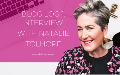 Blog Log 1: Interview With Natalie Tolhopf