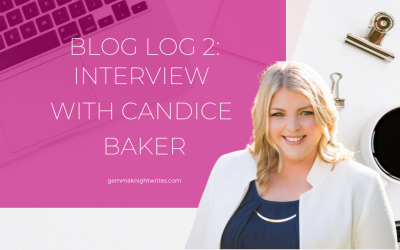 Blog Log 2: Interview With Candice Baker
